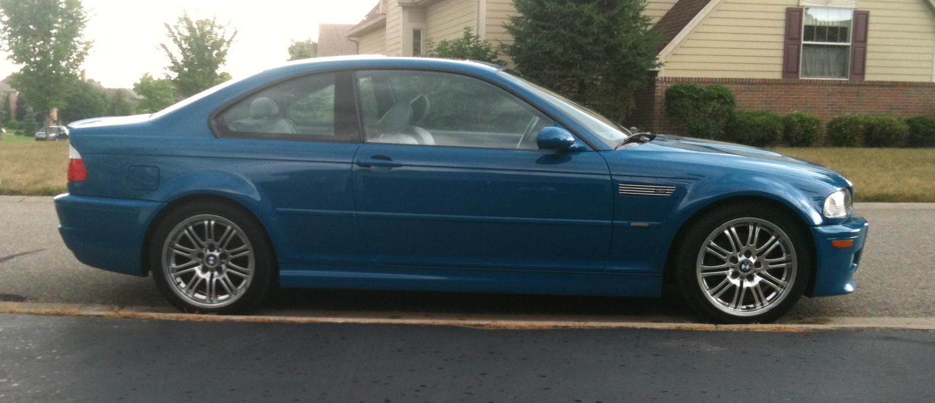 Robin's 2001 BMW M3