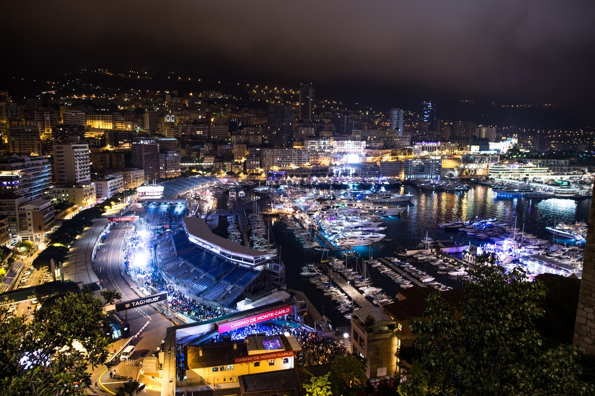 May 25-29, 2016: Monaco Grand Prix. Monaco GP nightlife atmosphere