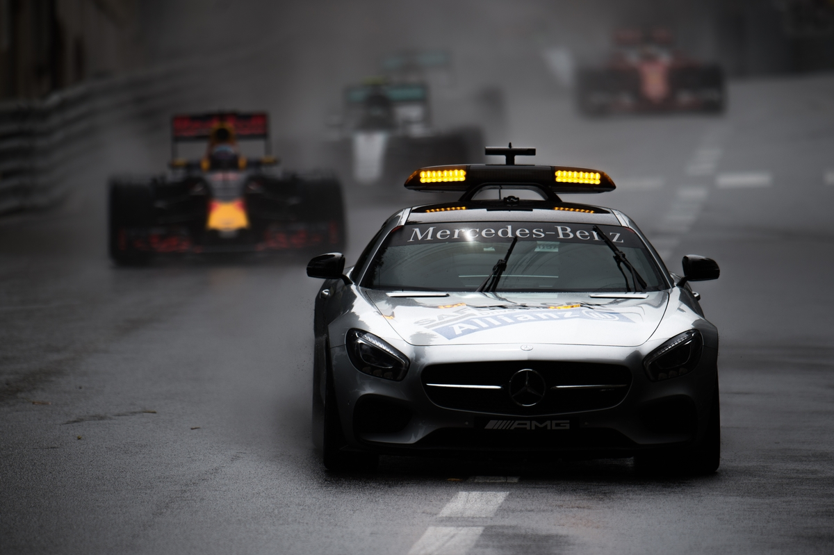 May 25-29, 2016: Monaco Grand Prix. F1 Safety Car