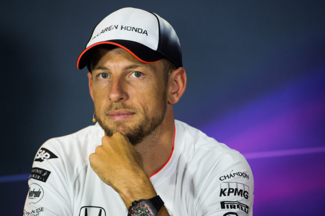September 1, 2016: Jenson Button (GBR), McLaren Honda , Italian Grand Prix at Monza